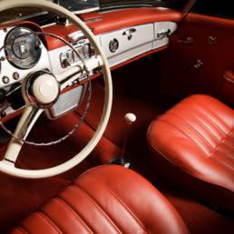 Riparazione interni Luxury car